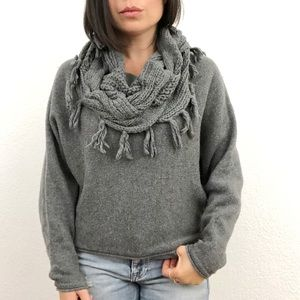 BCBG Max Azria Cowl Neck Knit Sweater